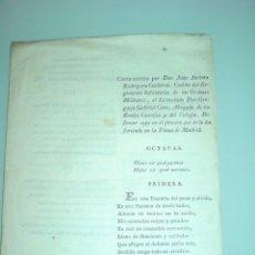 Militaria: PROCESO DE JUAN JACINTO CALDERON EN LA PLAZA DE MADRID 1798. OBRA DESCONOCIDA. Lote 177584203