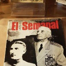 Militaria: REVISTA EL SEMANAL 1998. ENTREVISTA A VETERANOS DE LA I GUERRA MUNDIAL. Lote 177644454