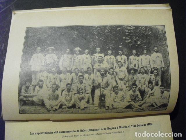 Militaria: 1911 EL SITIO DE BALER S MARTIN CEREZO SEGUNDA EDICION CORREGIDA Y AUMENTADA - Foto 4 - 177712079