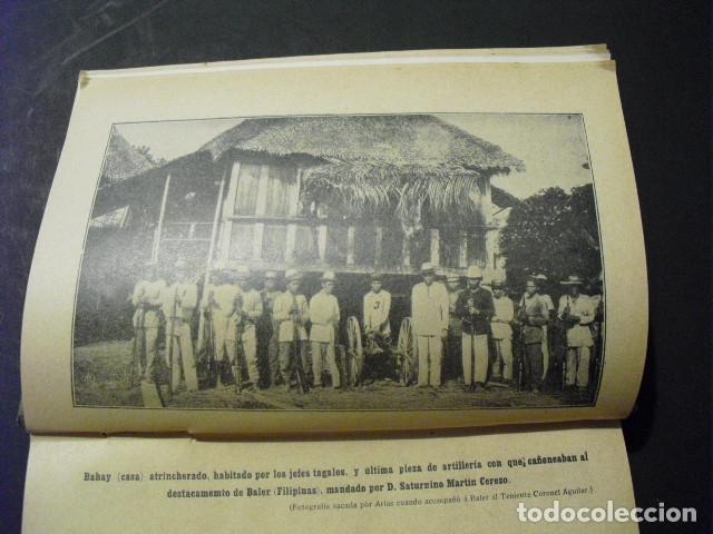 Militaria: 1911 EL SITIO DE BALER S MARTIN CEREZO SEGUNDA EDICION CORREGIDA Y AUMENTADA - Foto 5 - 177712079