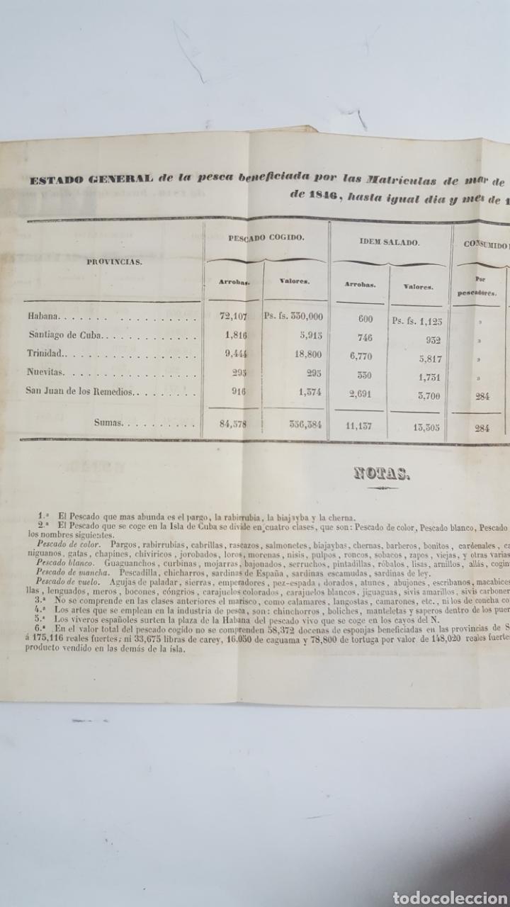 Militaria: ESTADO GENERAL DE LA ARMADA PARA EL AÑO 1848. ENCUADERNACION PIEL CON ESCUDO GRABADO, CON DEFECTO. - Foto 10 - 177828104