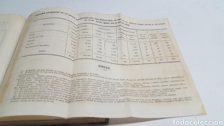 Militaria: ESTADO GENERAL DE LA ARMADA PARA EL AÑO 1848. ENCUADERNACION PIEL CON ESCUDO GRABADO, CON DEFECTO. - Foto 11 - 177828104
