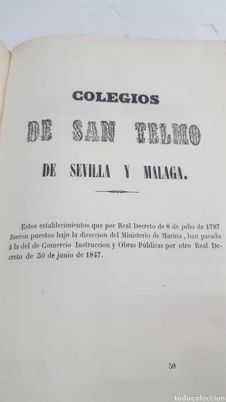 Militaria: ESTADO GENERAL DE LA ARMADA PARA EL AÑO 1848. ENCUADERNACION PIEL CON ESCUDO GRABADO, CON DEFECTO. - Foto 16 - 177828104