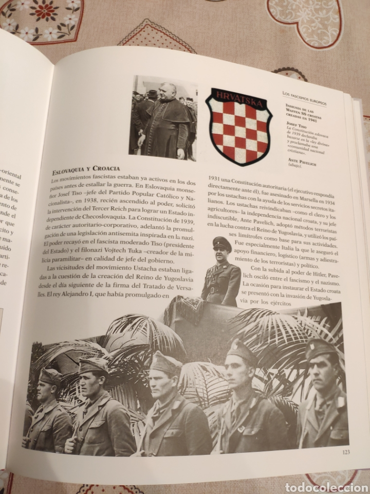 Militaria: Libro Atlas ilustrado del Fascismo - Foto 5 - 177839140
