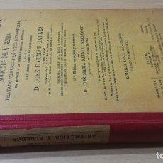 Militaria: ARITMÉTICA RAZONADA - JOSE DALMAU CARLES - 1934 - SELLO EQUIPO QUIRÚRGICO EJERCITO DEL NORTE. Lote 177842034