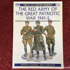 Militaria: THE RED ARMY OF THE GREAT PATRIOTIC WAR 1941-5. Lote 178039520