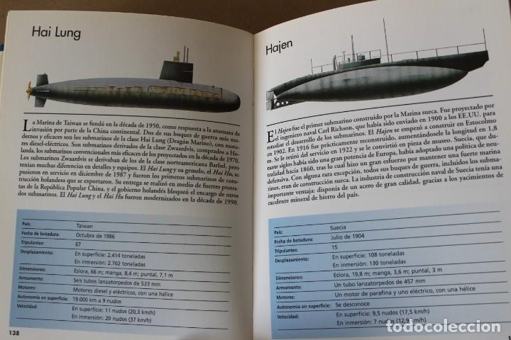 Militaria: SUBMARINOS DEL MUNDO. ROBERT JACKSON - EDITORIAL LIBSA 2002 - Foto 7 - 178135265