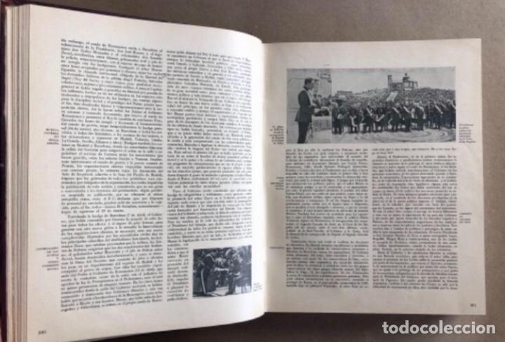 Militaria: HISTORIA DE LA CRUZADA ESPAÑOLA EDICIONES ESPAÑOLAS COMPLETA, ENCUADERNADA EN 6 TOMOS. - Foto 6 - 178317940