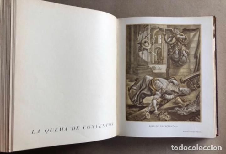 Militaria: HISTORIA DE LA CRUZADA ESPAÑOLA EDICIONES ESPAÑOLAS COMPLETA, ENCUADERNADA EN 6 TOMOS. - Foto 8 - 178317940