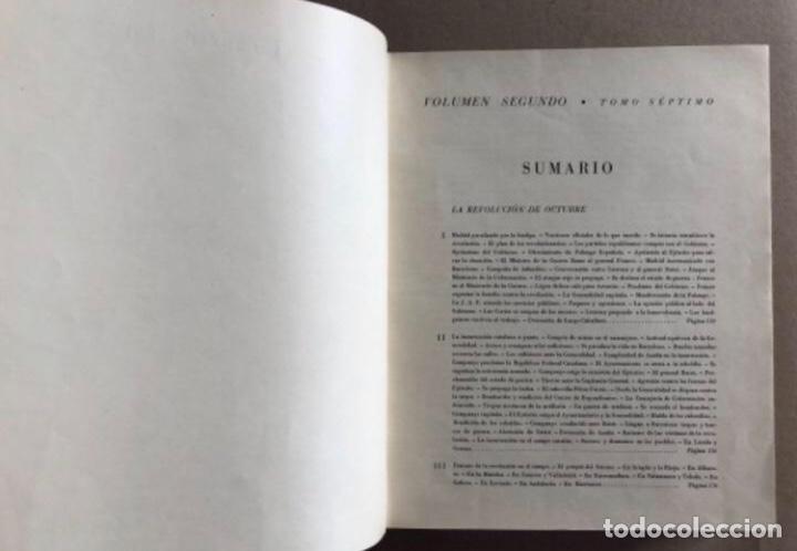 Militaria: HISTORIA DE LA CRUZADA ESPAÑOLA EDICIONES ESPAÑOLAS COMPLETA, ENCUADERNADA EN 6 TOMOS. - Foto 11 - 178317940