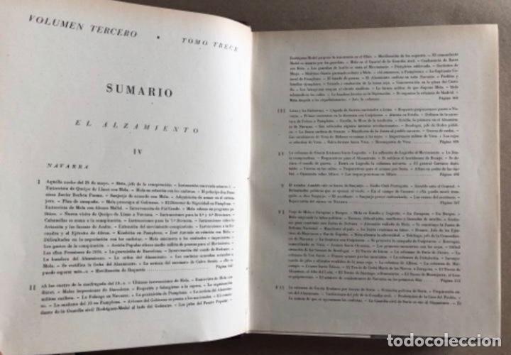 Militaria: HISTORIA DE LA CRUZADA ESPAÑOLA EDICIONES ESPAÑOLAS COMPLETA, ENCUADERNADA EN 6 TOMOS. - Foto 16 - 178317940