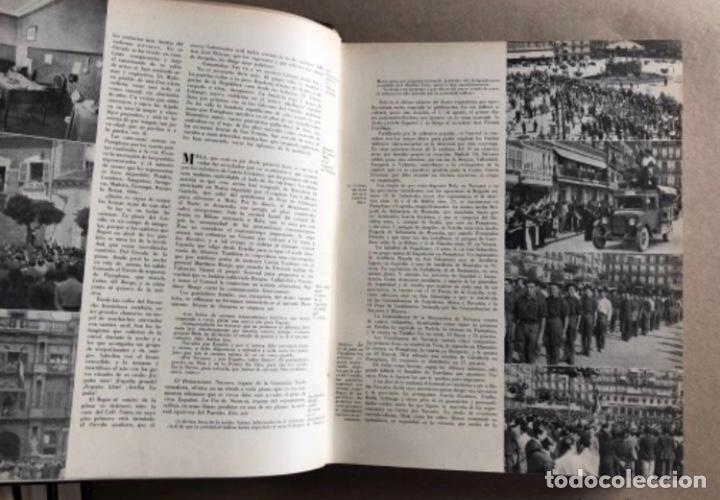Militaria: HISTORIA DE LA CRUZADA ESPAÑOLA EDICIONES ESPAÑOLAS COMPLETA, ENCUADERNADA EN 6 TOMOS. - Foto 17 - 178317940