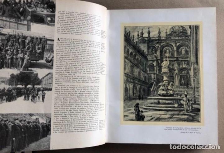 Militaria: HISTORIA DE LA CRUZADA ESPAÑOLA EDICIONES ESPAÑOLAS COMPLETA, ENCUADERNADA EN 6 TOMOS. - Foto 18 - 178317940