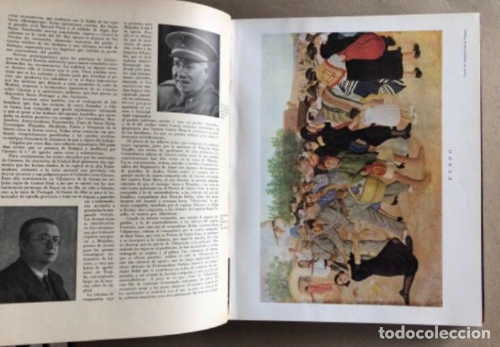 Militaria: HISTORIA DE LA CRUZADA ESPAÑOLA EDICIONES ESPAÑOLAS COMPLETA, ENCUADERNADA EN 6 TOMOS. - Foto 19 - 178317940