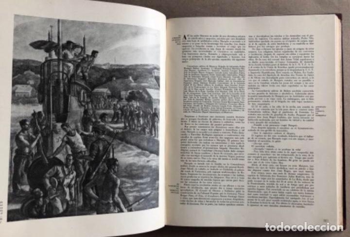 Militaria: HISTORIA DE LA CRUZADA ESPAÑOLA EDICIONES ESPAÑOLAS COMPLETA, ENCUADERNADA EN 6 TOMOS. - Foto 20 - 178317940