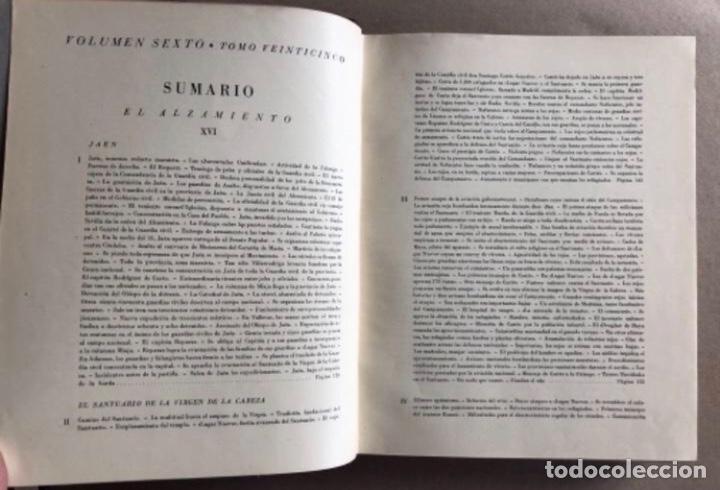 Militaria: HISTORIA DE LA CRUZADA ESPAÑOLA EDICIONES ESPAÑOLAS COMPLETA, ENCUADERNADA EN 6 TOMOS. - Foto 26 - 178317940