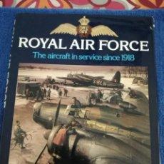 Militaria: LIBRO DE ILUSTRACIONES SOBRE LA RAF EN LA SEGUNDA GUERRA MUNDIAL. Lote 178347047