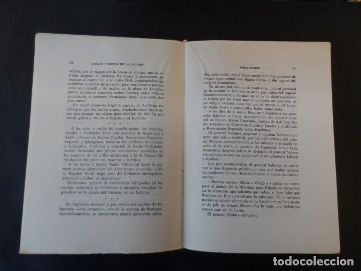 Militaria: HÉROES Y GESTAS DE LA CRUZADA. DATOS PARA LA HISTORIA. TOMÁS PRIETO. AÑO 1966. 2ª EDICION - Foto 4 - 178588102