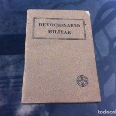 Militaria: P. REMIGIO VILARIÑO. DEVOCIONARIO MILITAR. 1938. Lote 178590852