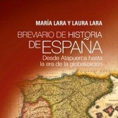 Militaria: BREVIARIO DE HISTORIA DE ESPAÑA. Lote 178629948