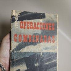 Militaria: PROPAGANDA BRITÁNICA SEGUNDA GUERRA MUNDIAL. OPERACIONES COMBINADAS 1940-42, CON FOTOS. Lote 178655881