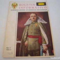 Militaria: BOLETIN INFORMATIVO HERMANDAD NACIONAL DE SARGENTOS PROVISIONALES Nº 0 1970. Lote 178893542