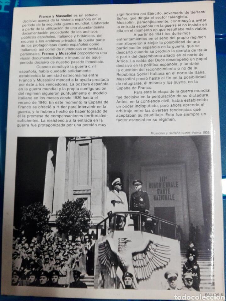 Militaria: FRANCO Y MUSSOLINI - Foto 2 - 179030087