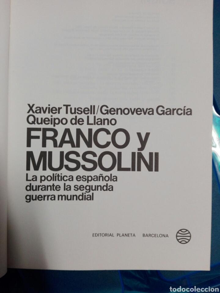 Militaria: FRANCO Y MUSSOLINI - Foto 3 - 179030087