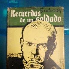 Militaria: RECUERDOS DE UN SOLDADO. Lote 179044853