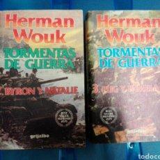 Militaria: TORMENTAS DE GUERRA TOMOS 2 Y 3. Lote 179047881