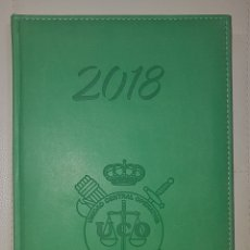 Militaria: AGENDA GUARDIA CIVIL 2018. Lote 179321870