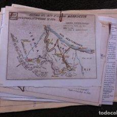 Militaria: HISTORIA DEL ARTE DE LA GUERRA. MARRUECOS. RAID. CAPAZ EN GOMARA. 1926. Lote 179533925