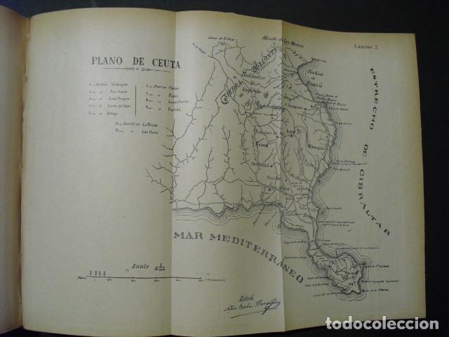 Militaria: 1910 GEOGRAFIA MILITAR DE MARRUECOS Y POSESIONES ESPAÑOLAS EN AFRICA CAP. GARCIA PEREZ - Foto 3 - 180032578