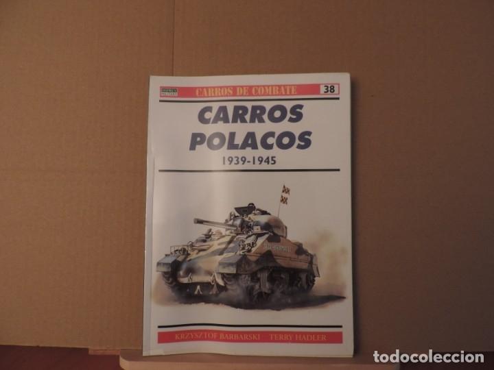 LIBROS - OSPREY RBA CARROS DE COMBATE - CARROS POLACOS (Militar - Libros y Literatura Militar)