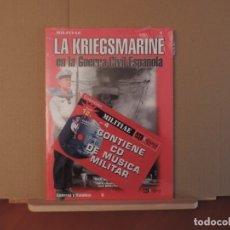 Militaria: LIBRO - QUIRON EDICIONES - LA KRIEGSMARINE EN LA GUERRA CIVIL ESPAÑOLA. Lote 180855028