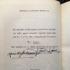 Militaria: CENTINELA DE OCCIDENTE - EDICIÓN COLECCIONISTAS - LIMITADA- FIRMADA - GALINSOGA - FRANCO. Lote 180931897