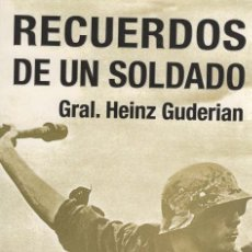 Militaria: RECUERDOS DE UN SOLDADO. GENERAL GUDERIAN.. Lote 180998538