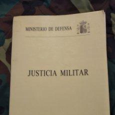 Militaria: JUSTICIA MILITAR 1989. Lote 181138877