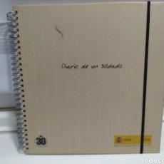 Militaria: DIARIO DE UN SOLDADO - MISIONES DE PAZ 1989- 2006 -EDITADO MINISTERIO DE DEFENSA. Lote 181156067