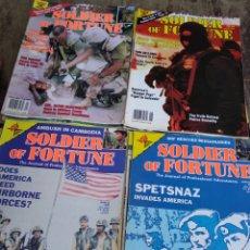 Militaria: LOTE DE 29 REVISTAS SOLDER OF FORTUNE FRANCIA. Lote 181174707