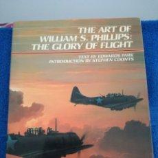 Militaria: LIBRO DE ILUSTRACIONES DE AVIONES DE WILLIAM S. PHILLIPS.SEGUNDA GUERRA MUNDIAL.ARTE AEREO. Lote 181202422
