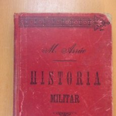 Militaria: CURSO DE HISTORIA MILITAR / M. ARRÚE / 5ª EDICIÓN 1907. Lote 181677853