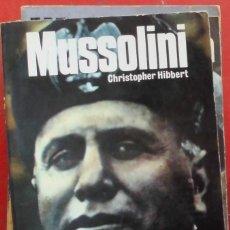Militaria: MUSSOLINI. Lote 182163480