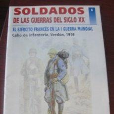 Militaria: SOLDADOS DE LAS GUERRAS DEL SIGLO XX Nº 6 FRANCIA I GUERRA MUNDIAL - VERDUN 1916 - IMPECABLE !!. Lote 182290796