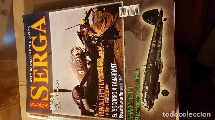 REVISTA SERGA. (Militar - Libros y Literatura Militar)