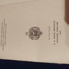 Militaria: LIBRO NAVAL. Lote 182382677