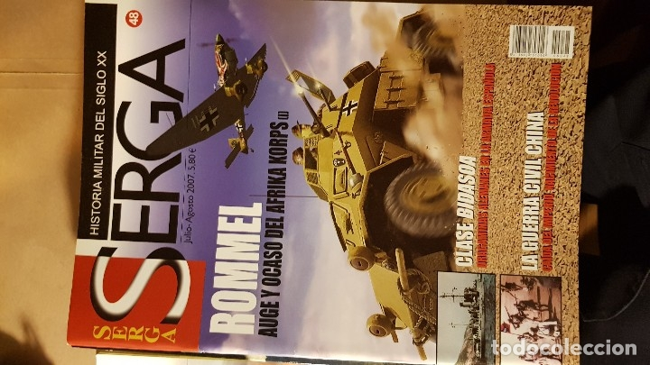 REVISTA SERGA (Militar - Libros y Literatura Militar)