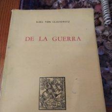 Militaria: DE LA GUERRA. Lote 182619246
