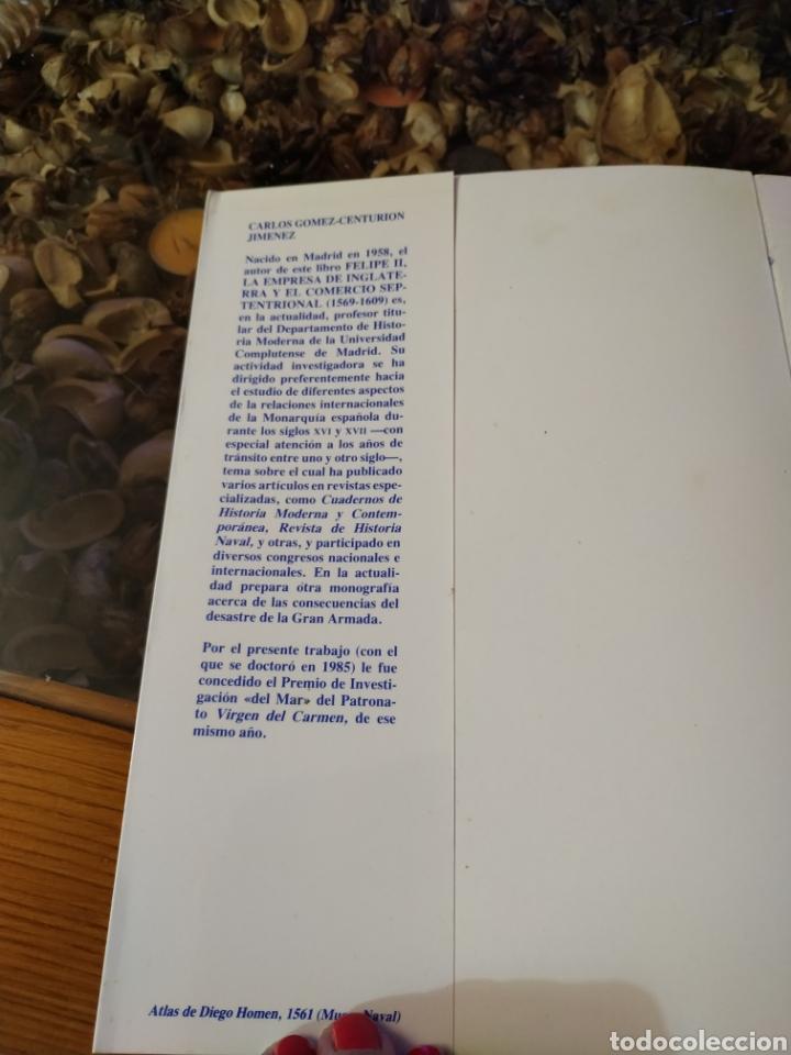 Militaria: FELIPE II, LA EMPRESA DE INGLATERRA Y EL COMERCIO SEPTENTRIONAL (1566-1609) - Foto 4 - 182643557