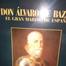 Militaria: DON ALVARO DE BAZAN EL GRAN MARINO DE ESPAÑA. JOSE CERVERA PERY. Lote 182698133